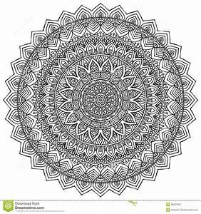 Henna Muster Schablone : mandala rundes verzierungs muster vektor abbildung illustration von henna identit t 46231802 ~ Frokenaadalensverden.com Haus und Dekorationen