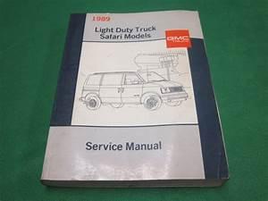 89 1989 Gmc Safari M Van Repair Guide Service Manual