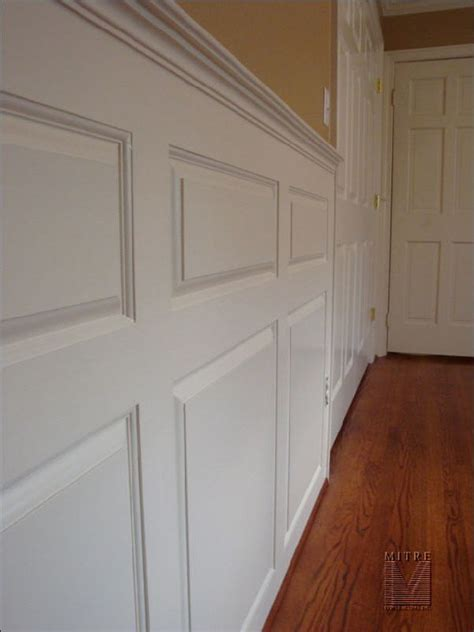 Building Wainscoting Panels by Wainscoting With Raised Panels Mitre Contracting Inc