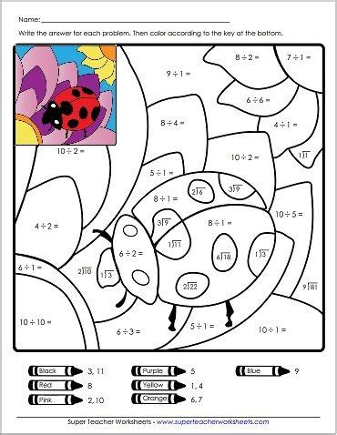 117 best images about math worksheets on place value worksheets - Division Worksheets Super Teacher