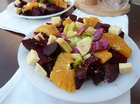 ratiba cuisine carpaccio vitaminé au fromage entrées froide le