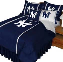 mlb new york yankees queen comforter set baseball ny logo modern kids bedding