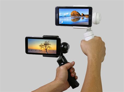 phone stabilizer autosteady 3 axis smart cell phone gopro gimbal stabilizer