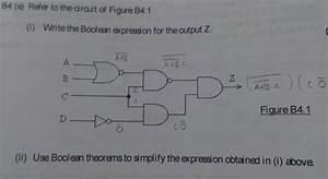Logic Gates - Simplifying A Boolean Expression