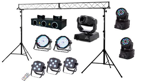 types of stage lights stage lighting hire marbella spain