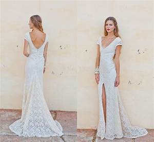 vestidos charming casual wedding dress anne mariee lace With casual lace wedding dress