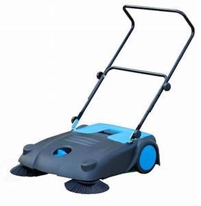 Outdoor    Indoor Manual Floor Sweeper With Dual