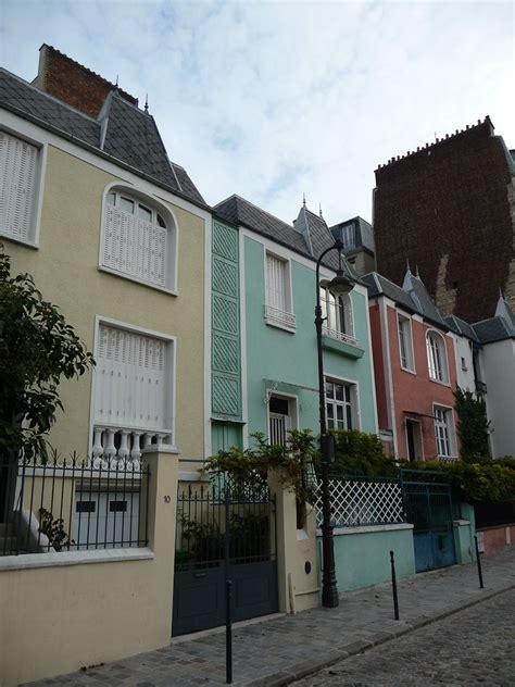 la maison dans la villette les maisons de ville 233 tonnantes de la rue dieulafoy 13e c 244 t 233 jardin