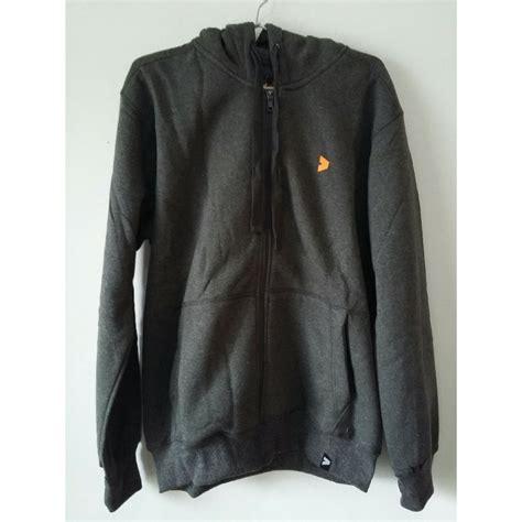 jual kalibre 970079 999 jaket hoodie resleting zip pria sweater outdoor outerwear abu