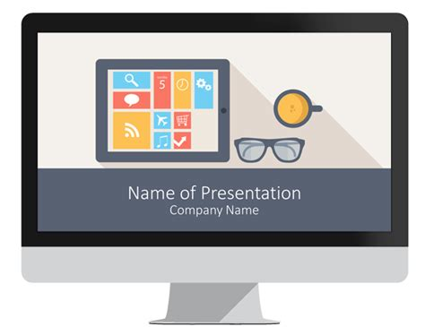 mobile technology powerpoint template presentationdeck