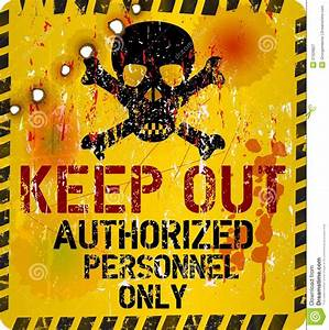 Keep out stock vector. Illustration of investigate, vector ...  Keep