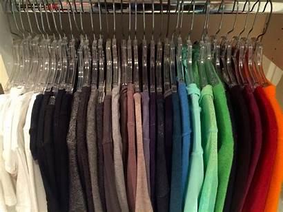Clothes Organize Hanging Closet Order Organizing Organized