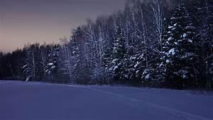 Winter Snow Background ·①