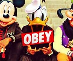 obey swag mickey - | oh my | Pinterest | Swag