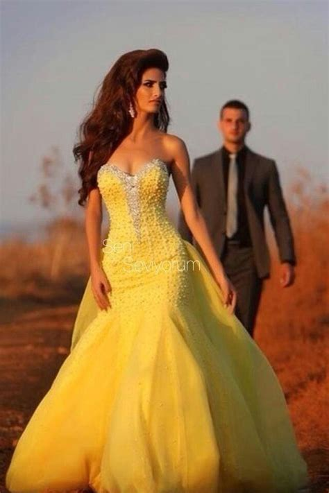 yellow formal dress ideas  pinterest yellow