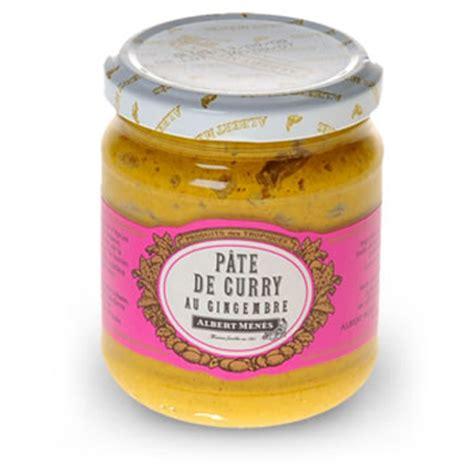 vinaigre d alcool cuisine pate de curry au gingembre tous les produits
