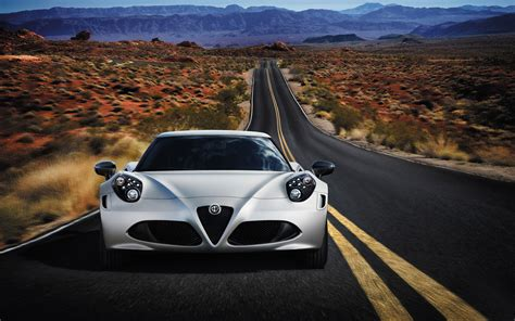 Alfa Romeo 4c 2014 Wallpaper