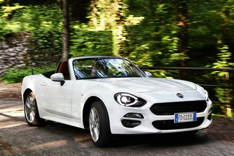 fiat spider white new fiat 124 spider officially launched in europe 60