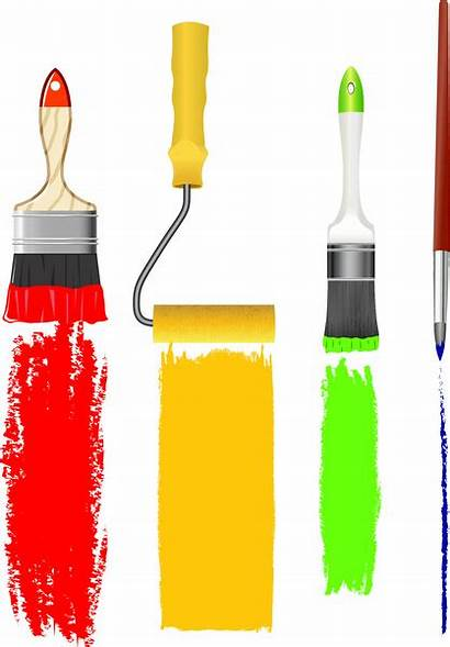 Brush Paint Vector Clip Rulo Graphic Illustration