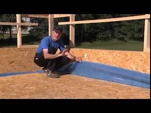 video etancheite des toitures terrasses par membrane 3t With etancheite toit terrasse bois