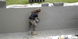 Comment Lisser Un Mur : faire l 39 enduit d 39 une piscine jardipartage ~ Dailycaller-alerts.com Idées de Décoration