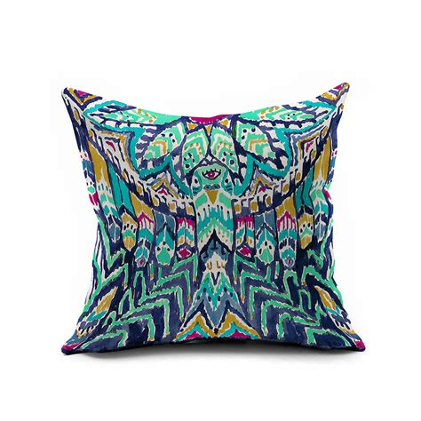 pottery barn throw pillows watercolor ikat cushion cover ikat throw pillow covers