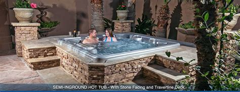inground tub ideas creative spa designs premier inground spa portable hot tubs spa and swim spa store in las vegas