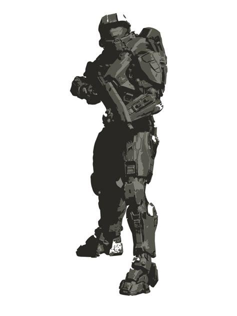 Minimalist Masterchief From Halo By Himehimine On Deviantart