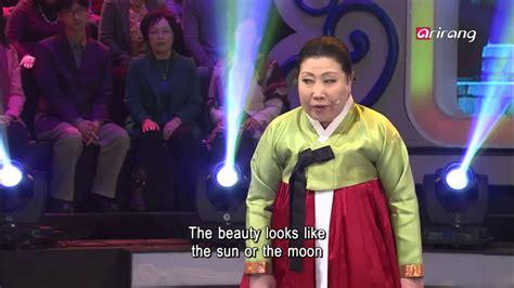 arirang special  pansori chunhyangga  shin young hee