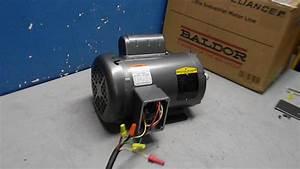Baldor Electric Motor 1 5hp