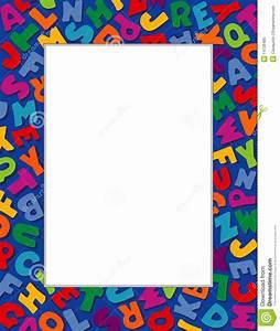 alphabet frame blue background stock vector image 14728480 With letter k picture frame