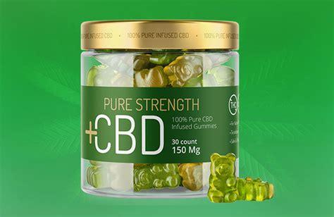pure strength cbd gummies  pure cbd infused edibles