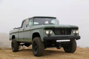 dodge avenger tires dodge power wagon hemi restomod by icon is a cool