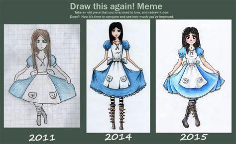Draw This Again Meme - meme draw this again by nyashkaa on deviantart