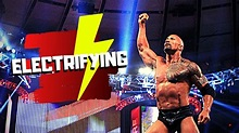 THE ROCK - The Most Electrifying Man - YouTube