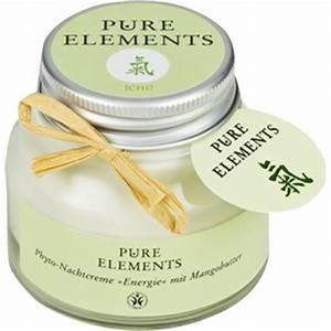 Chi Energie Aktivieren : chi energie crema da notte da pure elements parfumdreams ~ Markanthonyermac.com Haus und Dekorationen