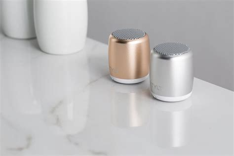 Minuscule Pocket Sized Speakers Tylt Mini Boom