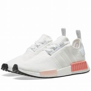 Adidas Originals NMD R1 Primeknit Runner Boost Damen Wei