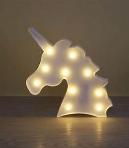 Lampe De Chevet Licorne : lampe licorne veilleuse t te de licorne lampes originales ~ Teatrodelosmanantiales.com Idées de Décoration