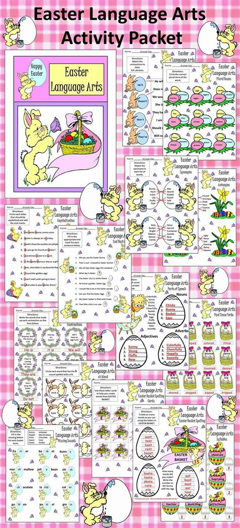 3498 best easter language arts ideas images on