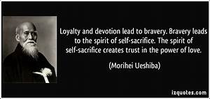 Christian Loyal... Self Sacrifice Hero Quotes