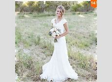 Discount Eletant Full Lace Wedding Dresses Mermaid V Neck