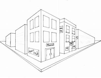 Perspective Point Easy Building Drawing Grade Points