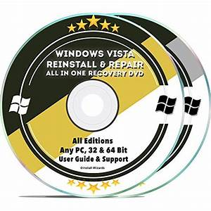 Installation Repair Disc For Windows Vista Recovery