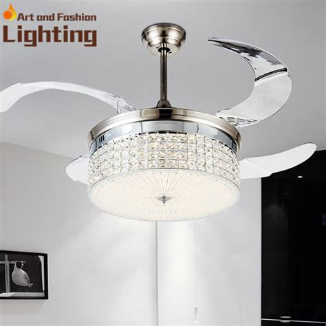 ceiling fan with dimmer light invisible fan blades crystal ceiling fan light dimmer 4