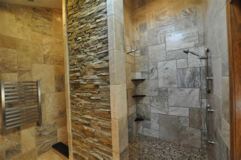 rock tile shower 31 great ideas and pictures of river rock tiles for the