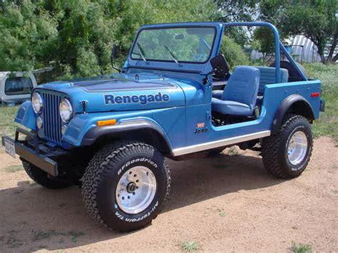jeep cj renegade jeep wrangler cj 5 photos 7 on better parts ltd