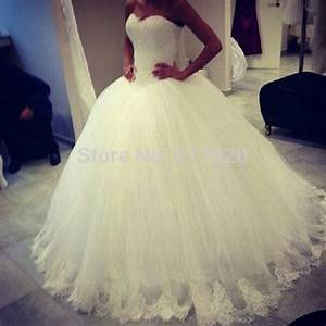 sweetheart tulle lace appliqued princess ball gown puffy With puffy princess wedding dresses