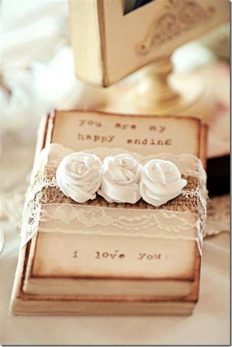 shabby chic wedding gift ideas diy wedding guest book frame w hearts