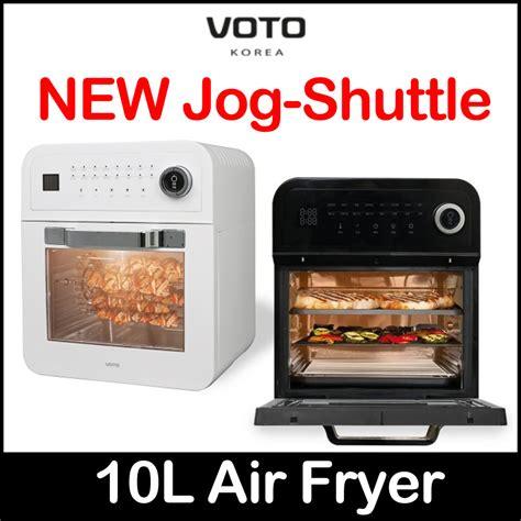 air fryer voto korea oven 10l airfryer jog dial